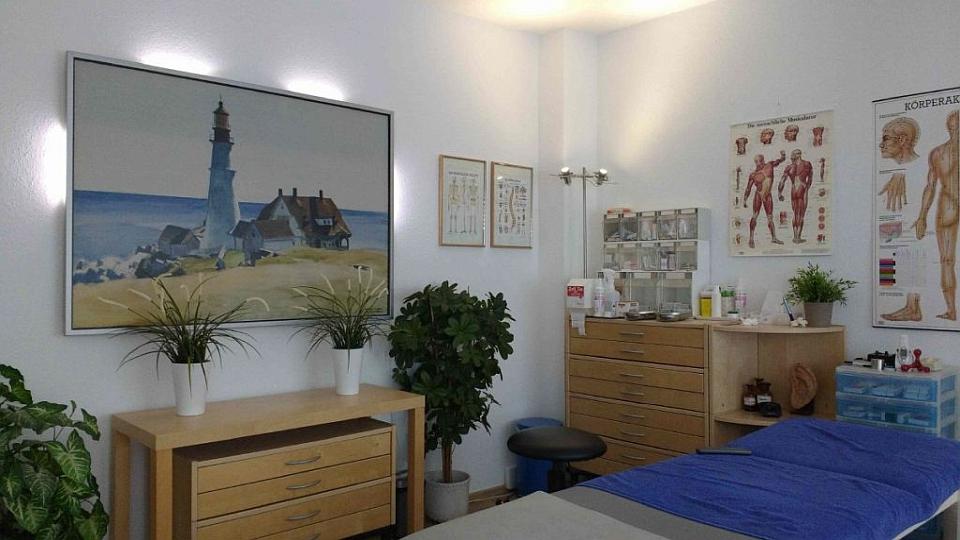 Naturheilpraxis Jütte Behandlungszimmer