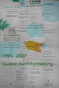 HP Juette Essen Zertifikate